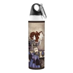 TreeFree Greetings VB47576 Amy Brown Fantasy Artful Traveler Stainless Water Bottle 18Ounce Singular Wish Fairy * Check out the image by visiting the link.(This is an Amazon affiliate link and I receive a commission for the sales)