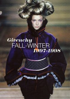 Givenchy by Alexander McQueen, Haute Couture Fall-Winter 1997/98.