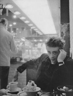 James Dean at the Diner