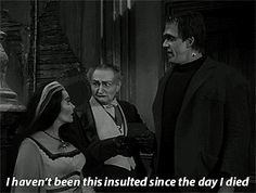 Discover & share this Yvonne De Carlo GIF with everyone you know. GIPHY is how you search, share, discover, and create GIFs. Munsters Tv Show, The Munsters, Munsters Grandpa, Lily Munster, Yvonne De Carlo, Old Shows, Lost In Space, Tv Show Quotes, Cult Movies