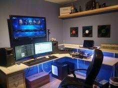 Awesome Desk Setup : Photo