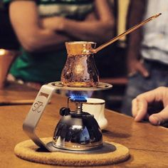 """Tonight we're brewing specialty coffee """"Turkish style"""". Recipe at: http://www.turkishstylegroundcoffee.com/turkish-coffee-recipe/ #turkishcoffee #turkishcoffeerecipe"""