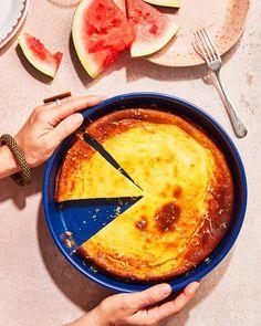 Ricotta Cheesecake, Italian Cheesecake, Cheesecake Recipes, Easy Desserts, Dessert Recipes, Swedish Dishes, Baked Ricotta, Savory Scones, Sbs Food