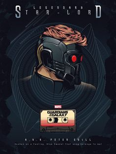 Fan art of 'Star-Lord'/'Peter Quill' from 'Guardians Of The Galaxy' Marvel Comics, Films Marvel, Marvel Movie Posters, Marvel Heroes, Marvel Avengers, Star Lord, Peter Quill, Stark Tower, Gardians Of The Galaxy