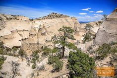 Kasha-Katuwe Tent Rocks National Monument in New Mexico — earthXplorer adventure…