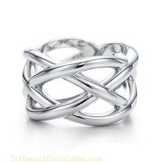 Tiffany & Co Outlet Knots Ring -thumb or pointer finger
