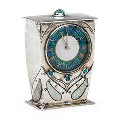 Настольные часы от Арчибальда Нокса, примерно 1904 год / Art Nouveau Table Clock by Archibald Knox ca.1904