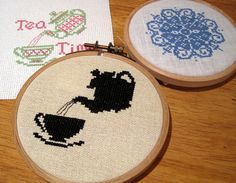 idea! - by Happiness is Cross Stitching : December 2011