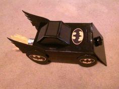 My son's Valentine's box. Batman is my familys favorite super hero :)