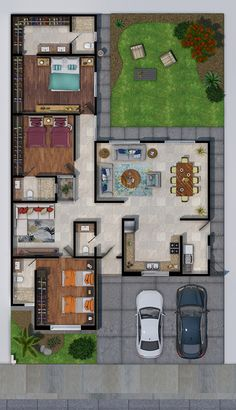 House Floor Design, Sims House Design, Home Design Floor Plans, Home Building Design, Home Room Design, Small House Design, Building A House, Sims House Plans, House Layout Plans