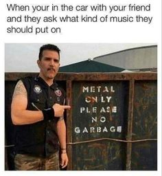 Humor Musical, Music Humor, Death Metal, Anime Rock, Emo Rock, Black Metal, Music Background, Metal Meme, Hard Rock Music
