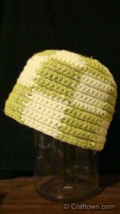 Easy Beginner Crochet Hat