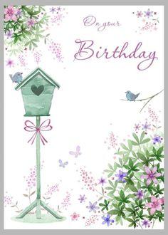 Happy Birthday - By: Victoria Nelson Send Birthday Card, Butterfly Birthday Cards, Birthday Clips, Happy Birthday Celebration, Birthday Traditions, Happy Birthday Flower, Singing Happy Birthday, Happy Birthday Images, Happy Birthday Greetings