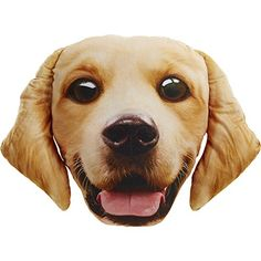 Pet Faces Golden Retriever Pillow *** Want to know more, click on the image.