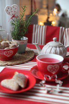 C'est prêt thé rouge ...