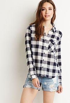 Buffalo Plaid Shirt | Forever 21 - 2000116296