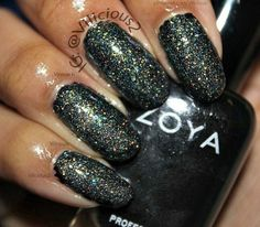 One coat of Butter London Tart With a Heart layered over one coat of Zoya Raven.