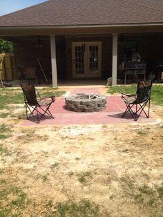 My current back yard