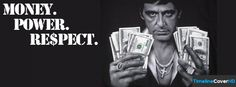 Money Power Respect Timeline Cover 850x315 Facebook Covers - Timeline Cover HD