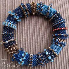 Blue Denimn Bangle