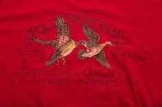 Vintage 90s Ralph Lauren Polo Sportsman Duck Hunting T-Shirt, Outdoor Apparel