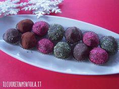 Tartufi di cioccolato - Ricetta tartufi di cioccolato
