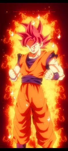 Super Saiyajin god ✨
