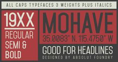 60 Free Sans Serif Fonts to Give Your Designs a Modern Touch – Design School Sans Serif Fonts, Typography Fonts, Typography Design, Lettering, Typography Served, Design Spartan, Free Fonts For Designers, Typographie Inspiration, Modern Typeface