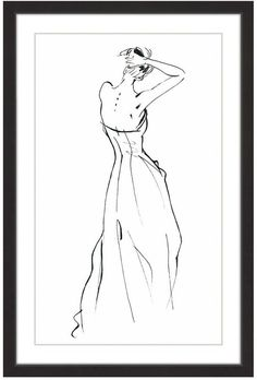 Marmont Hill Inc. Sexy Back Framed Giclee Print