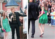 Georgie Henley oufit at the Prince Caspian premiere in Paris, France on June 20, 2008.