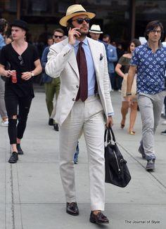 Fabio Attanasio in Pitti Uomo, by The Journal of Style