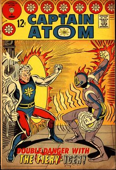 Captain Atom #87(August 1967) - Cover by Steve Ditko and Rocke Mastroserio