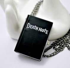 New Arrival Best Selling Fashion Jewelry Vintage Death Note Necklace N1688 Buy One Get One Freeshipping(China (Mainland))