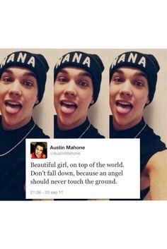 Austin Mahone Cute quote...