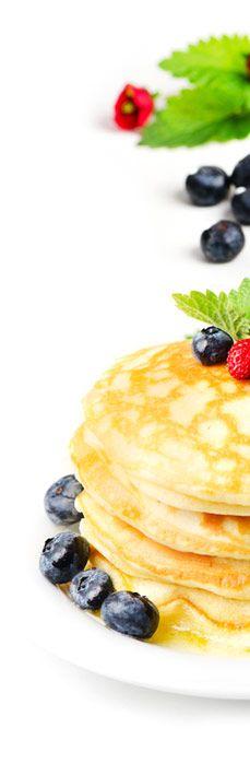 kesäiset lettukestit Sweet Pastries, Pancakes, Foods, Breakfast, Ethnic Recipes, Food Food, Food Items, Crepes, Griddle Cakes