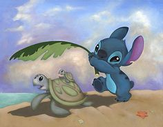 Google Image Result for http://www.world-wide-art.com/images/Walt-Disney-Storybooks/Lilo-and-Stitch-Made-in-the-Shade.jpg