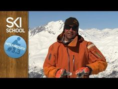 Intermediate Ski Lesson #3.3 - Rounded Turns to Control Speed - YouTube