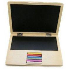 Wooden Notebook Blackboard - Kids Toys - Gifts for Little Kids - Spielzeug Diy For Kids, Crafts For Kids, Diy Toys For Toddlers, 4 Kids, Woodworking For Kids, Woodworking Toys, Blackboards, Wood Toys, Wood Kids Toys