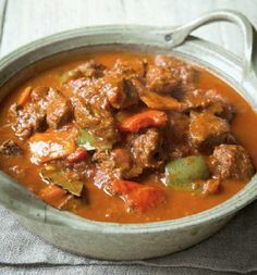 Beef goulash - we are so making a big batch of this to freeze off!
