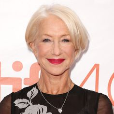 Helen Mirren's Changing Looks - 2015 - from InStyle.com