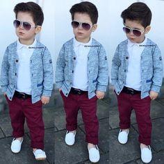 Fashion Kids Boy Outfits Hipster Babies 64 Ideas For 2019 Little Boy Outfits, Little Boy Fashion, Kids Fashion Boy, Toddler Boy Outfits, Toddler Fashion, Trendy Fashion, Baby Boy Dress, Baby Boy Swag, Outfits Niños