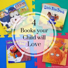 Kids learning comes in all different ways, reading is right at the top of my list. Check out these four AWESOME books your little ones will love.