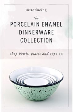 Fill your cabinets with American-made goods! Porcelain enamel dinnerware is a timeless, classic nod to Americana #madeinUSA #AMMDay #AmericanMade