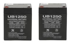 Razor Electric Scooter battery - 2 Pack - UPG Brand (With Flashlight Bundle)