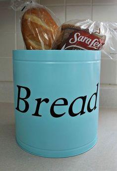 diy bread tin, crafts, kitchen design, organizing, repurposing upcycling, storage ideas