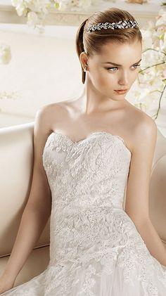 PANDARA / Bridal Gowns / 2014 Collection / Avenue Diagonal (close up)