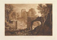 East Gate, Winchelsea, Sussex, from Liber Studiorum, part XIV
