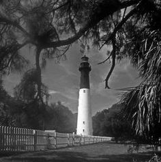 HUNTING ISLAND LIGHTHOUSE IN SC
