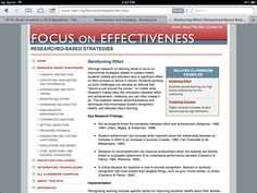 http://www.netc.org/focus/strategies/rein.php Reinforcing Effort and Providing Recognition for students #edchat