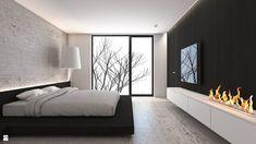 Sypialnia styl Minimalistyczny - zdjęcie od A2 STUDIO pracownia architektury - Sypialnia - Styl Minimalistyczny - A2 STUDIO pracownia…